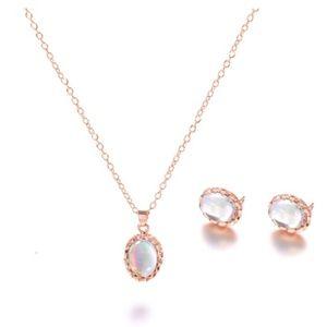Jewelry - New Opal Jewelry Set Necklace